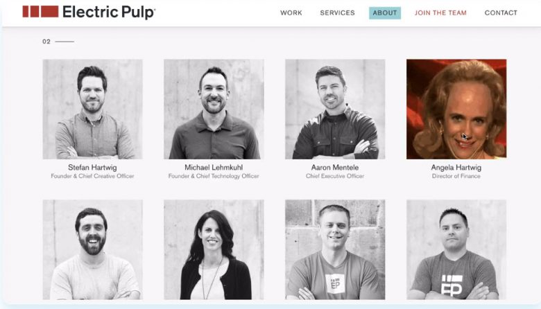 Electric Pulp - Staff Headshots