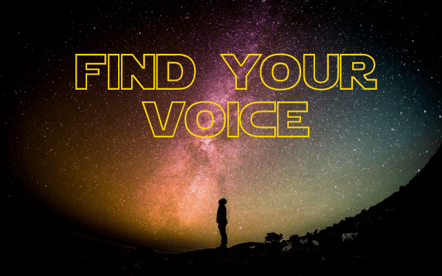 Use the Force to Find Your Writing Voice