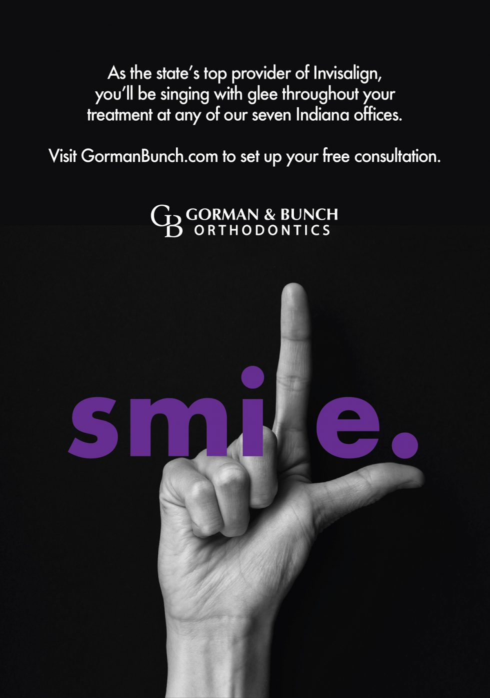 gorman-bunch-orthodontics-print-advertisement