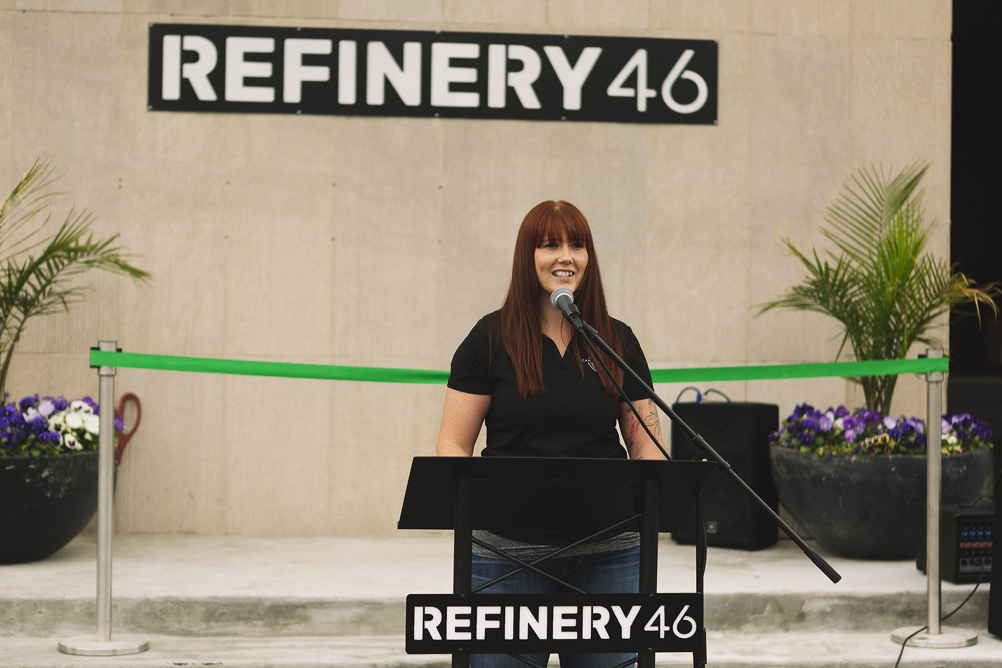 Corporate Event Photography - Refinery 46 Ribbon Cutting - Indianapolis Mayor Hogsett - 11