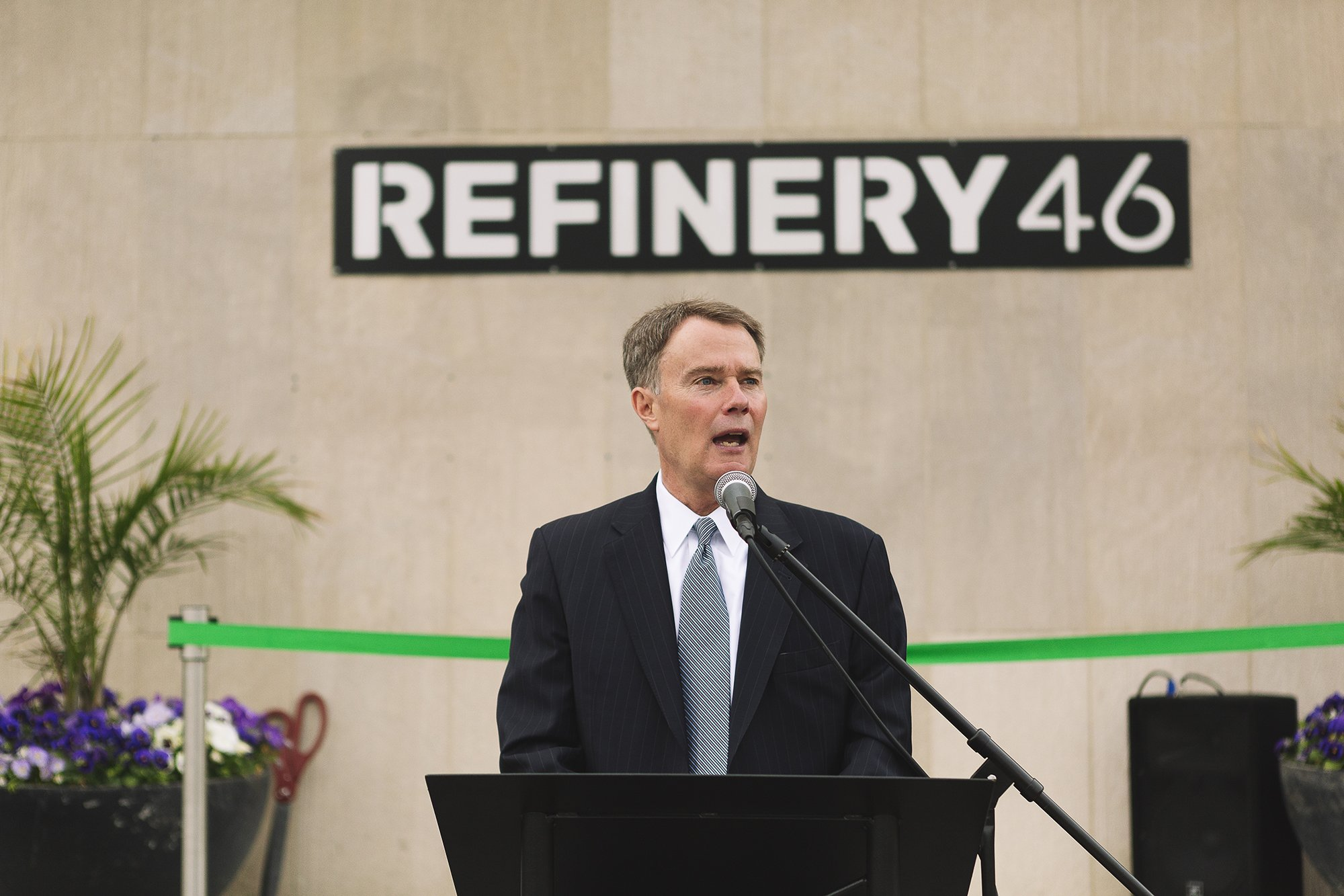 Corporate Event Photography - Refinery 46 Ribbon Cutting - Indianapolis Mayor Hogsett - 23