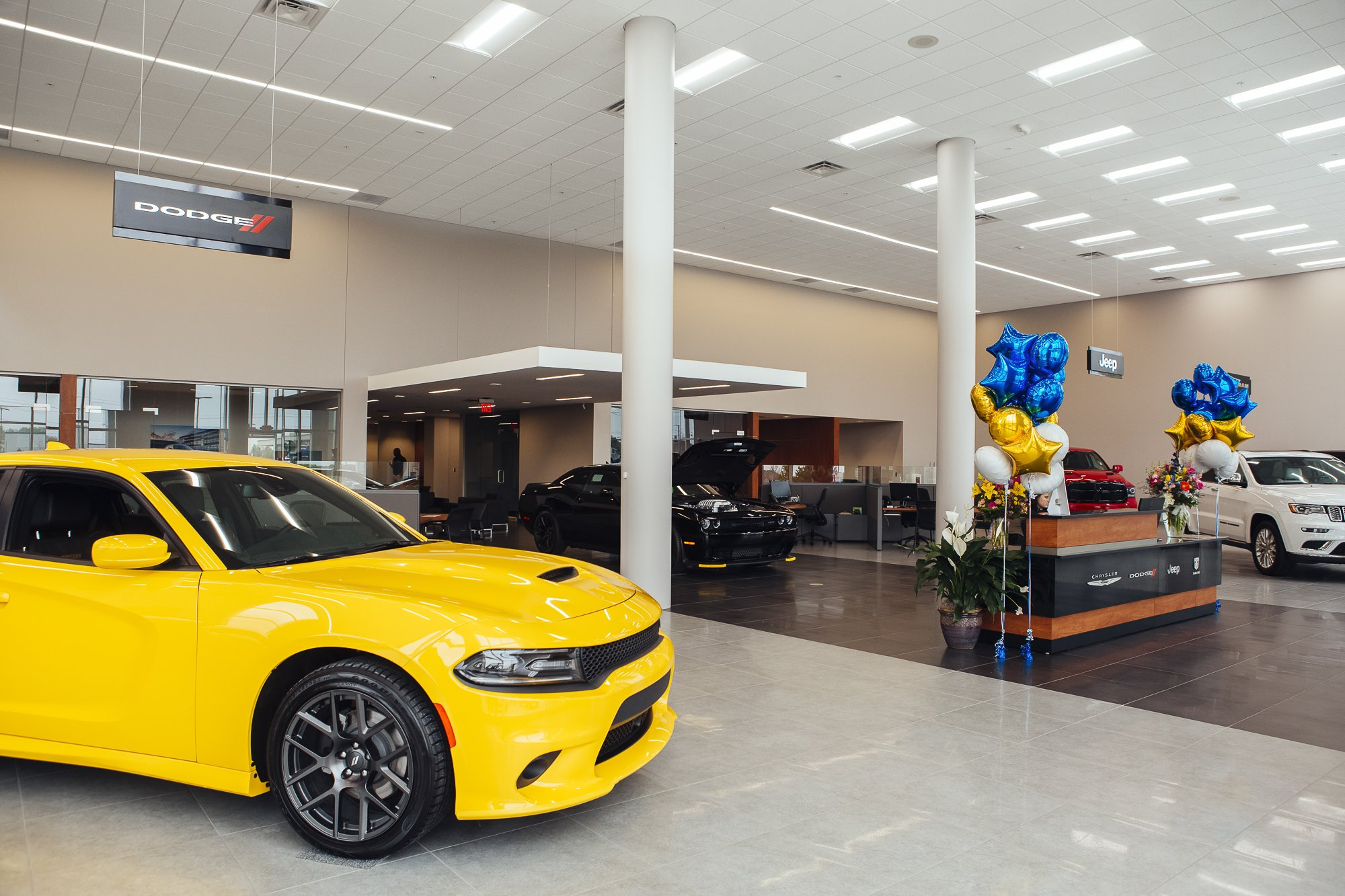 Bill Estes car dealership Brownsburg IN commercial photography session