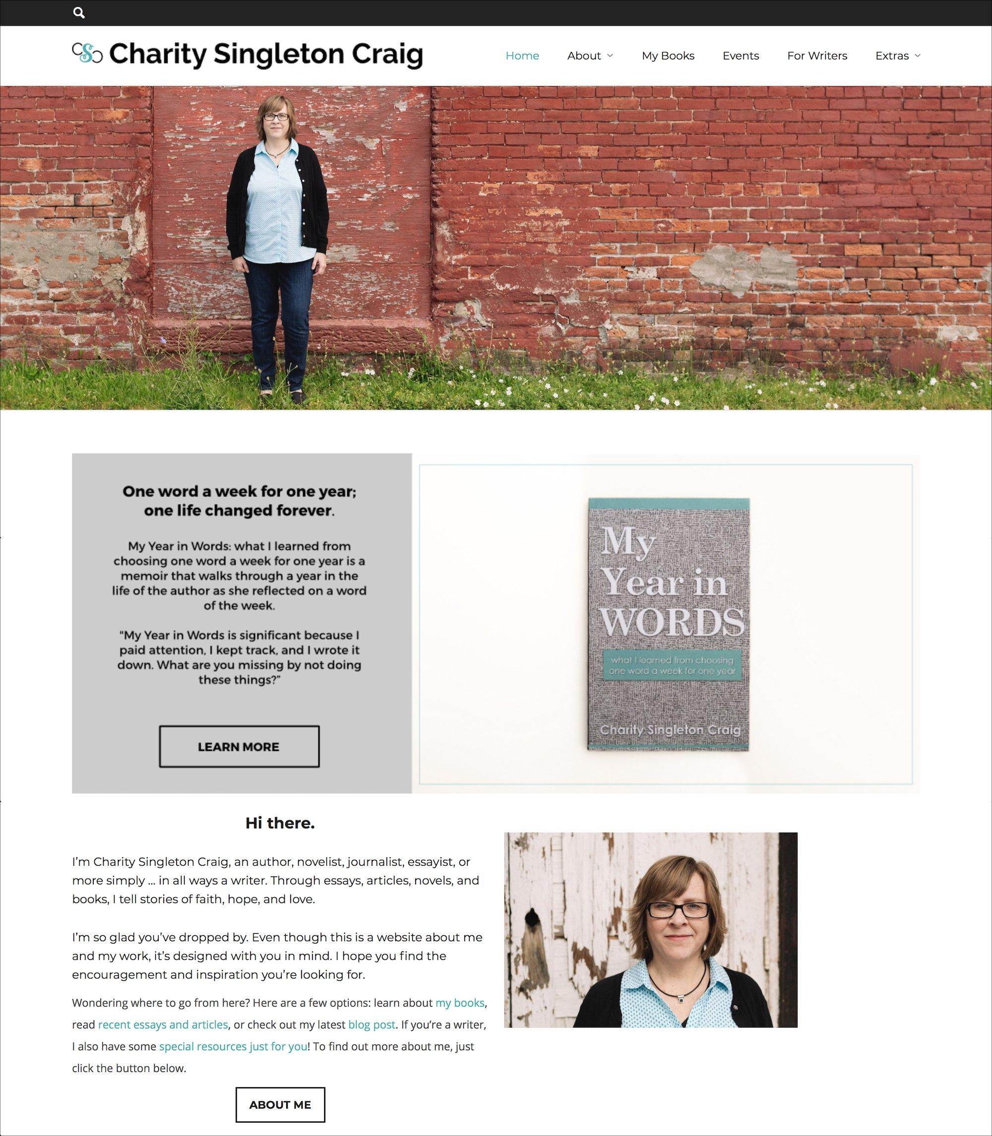 Professional Headshots — Author Charity Singleton Craig — 100