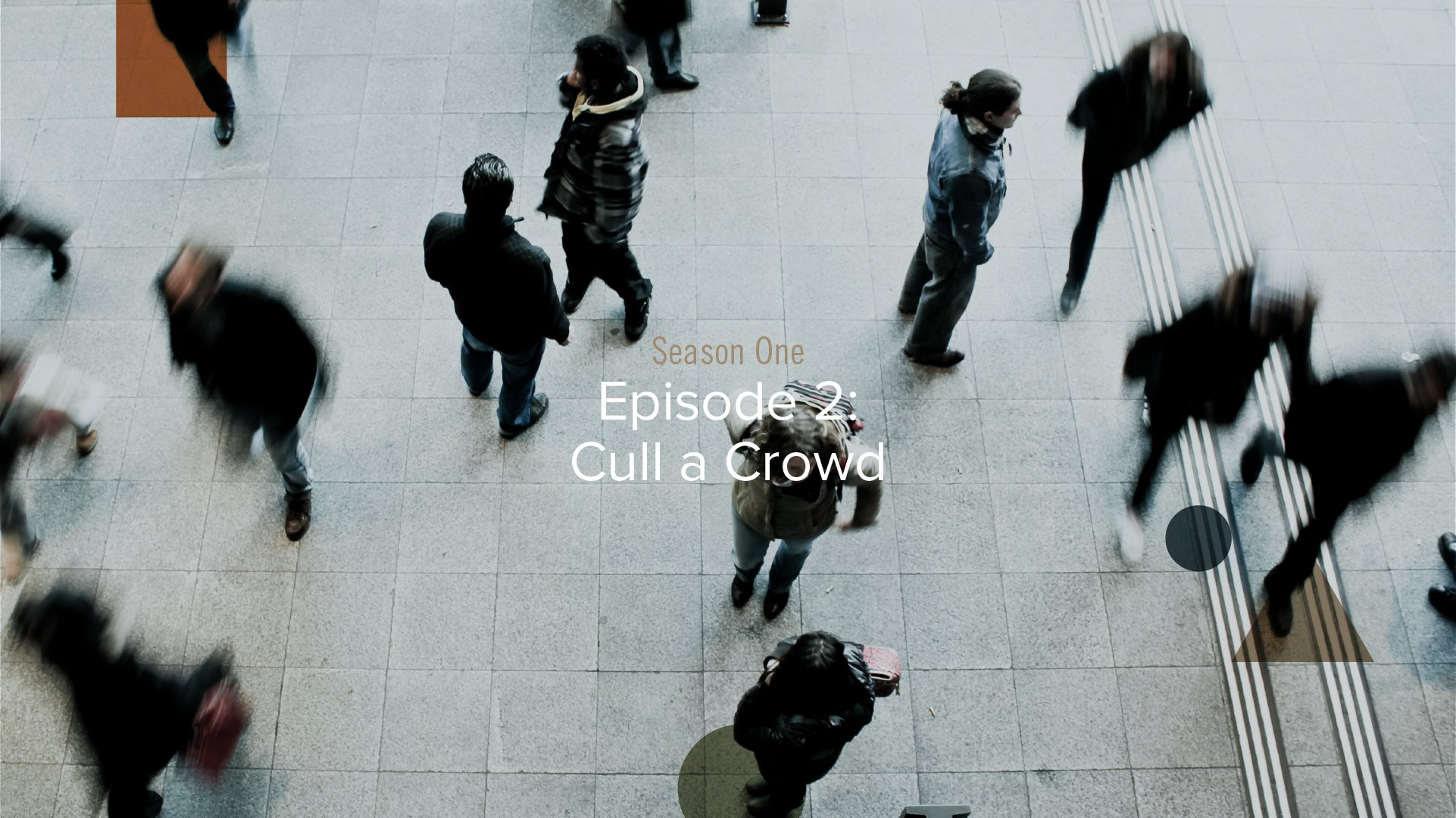 Metaphorically Speaking Podcast: Season 1 - Episode 2 - Cull a Crowd